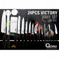 Oxone Pisau Set Victory 24pc (OX-631)