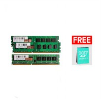 V-GEN Long-DIMM 1.5V Unbuffered 240pin DDR3 - 4GB PC-12800/1600 Mhz + Free Kalender 2017