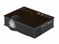 UNIC T4shops UC40+ Mini LED Projector 800 Lumens Better Than UC30 - Hitam