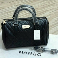 [Mango] Quilted Bowling| Original Branded | 100% Authentic | Black