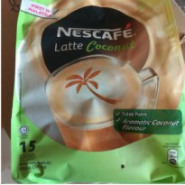 Nescafe latte coconut