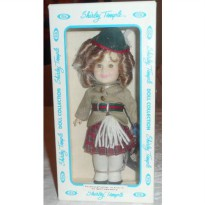 [poledit] 7 1/2` Ideal Shirley Temple Doll Collection `Wee Willie Winkie` (R1)/12241669