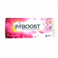 Imboost Tablet Imun Suplemen - Isi 10 Tablet