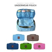 Monopoly Travel Underwear Pouch Multi Purpose Organizer Bag / Tas Travel Underwear