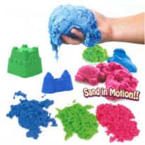 Refill kinetic sand pasir kinetik color magnetic beach play 1kg 1000gr