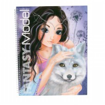 TOP Model Create your Fantasy Model colouring book TM7888