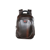 Euro Polo Tas Ransel WT-680-4 Backpack With Slot Laptop - Coklat Coffee