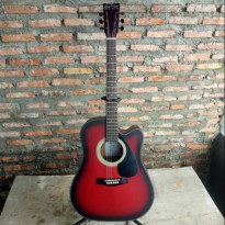 BONUS SOFTCASE GITAR MARTIN&CO AKUSTIK ELEKTRIK FINISHING RAPIH