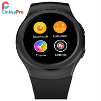 CinkeyPro Smart Watch G3 Pedometer Infrared Heart Rate Notifier SIM Card smartwatch for Samsung Gear S2 S3 iPhone Apple Android