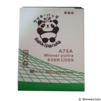 BATTERY BATERAI DOUBLE POWER DOUBLE IC RAKKIPANDA EVERCOSS CROSS A75A WINNER Y ULTRA / A75G 4200mAh