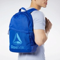 Tas Olahraga Reebok Training Ess Backpack- Blue EC5574