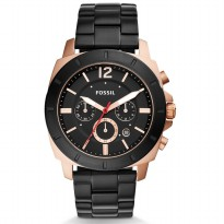 Fossil Privateer Sport Chronograph Black Watch, BQ 2290