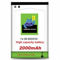 Hippo Battery Blackberry Bold/Onyx1/Onyx2 2000mAH