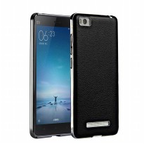 Fashion Leather Battery Cover Backcase Casing Xiaomi Redmi 3 - Original