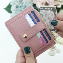 Korean Trendy Style Women Colorful Cute Card Purse Wallet / g0907-2_ prompt non Shirley leather wal