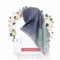 Wandakiah Scarf Season 7 Lasercut - Thalia In Black