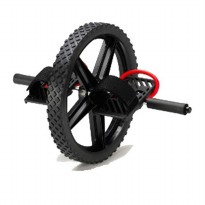 Body Gym Power Wheel - Hitam