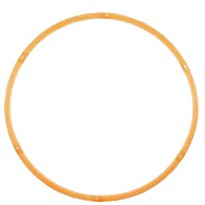Adjustable Hula Hoop LIMPID 90Cm-Orange.