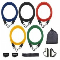 Body Gym Resistance Band Set - Multi Color