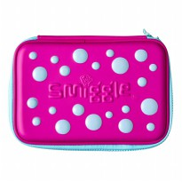 Smiggle Tempat Pensil Spot Double Up Hardtop Pencil Case - Purple