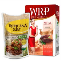 [1+1] WRP Lose Weight Meal Replacement FREE Tropicana Slim Beras Merah