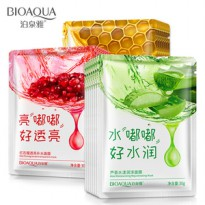 Bioaqua Facial Moisturizing Mask | Pomegranate/Honey/Aloe Vera