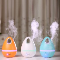 Egg Air Humidifier Aroma Diffuser Gradient Light 7 Colours 200ml