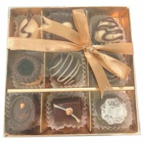 Box 9th Happiness Chocolate Colatta Coklat Valentine Homemade Valentin