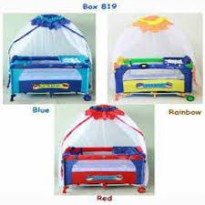 Pliko Baby Box 819 Rocking Player Ranjang Bayi Ada 3 Warna Pilihan