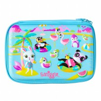SmiggleScented Party Hardtop Pencil Case - Biru