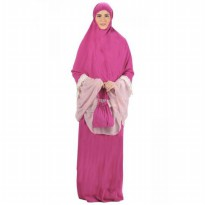 Big Mall Mukena Fashion Amanda 233 - Fuschia