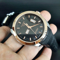 TISSOT TS026 BLACK RING ROSEGOLD