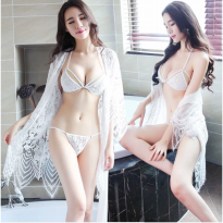 3+1 LINGERIE//LINGERIE ROBE IRREGULAR AND TWO PIECES