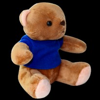Outerbloom Cuddlemate Bonnie Bear Kiss Size 25cm