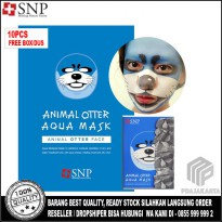 SNP Animal Mask - Masker Animal - Animal Otter Aqua Mask