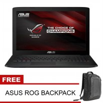 ASUS ROG G501JW I7-4750HQ, 16GB, SSD 512GB, GTX960 4GB, 15.6' QHD, WINDOWS 10 PROMO!!!