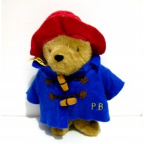 Boneka Paddington Bear Original London Teddy Bear Super Soft Doll