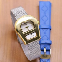 AIGNER A0173 SILVER GOLD LEAYHER BLUE