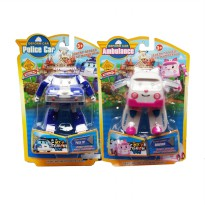 Deform Car Robocar Poli - Mainan 2 in 1 Robocar Poli - Ages 3+