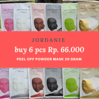 JORDANIE PEEL OFF MASK SACHET BUNDLE 6PCS
