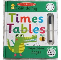 WM BBW Buku Anak Berhitung Perkalian Write Wipe Times Tables