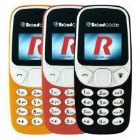 Brandcode B3310 Mirip nokia 3310 Reborn - Single SIM - no camera