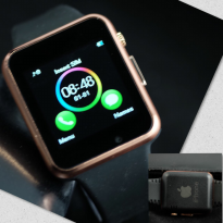 SMART WATCH IPHONE SW08 BLACK ROSEGOLD