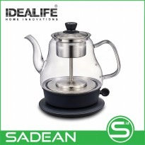 Electrical Steam Tea Maker IDEALIFE IL-113 Teko Listrik Pembuat Teh