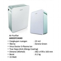 Samsung Air Purifier AX022FCVAND