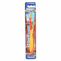 Oral-B Sikat Gigi Anak Stages 3 (5-7 Years) Boy - Color May Vary