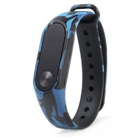 Xiaomi Mi Band 2 OLED STRAP Army Colour Motif Militer repleacement - Naval