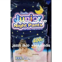 Pampers Mamy Poko Pants Junior Night Boys/Girls XXXL isi 24 pc