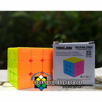Yongjun Moyu Rubik 3 Layers Magic Cube - Mainan Rubik Kubus Fullcolor - Ages3+