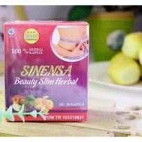 Sinensa Beauty Slim Herbal BPOM ORIGINAL [isi 50 Kapsul]